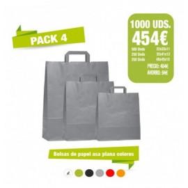 Oferta Bolsas - Pack 4