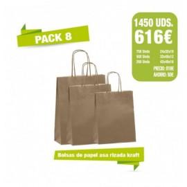 Oferta Bolsas - Pack 8
