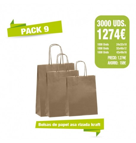 Oferta Bolsas - Pack 9