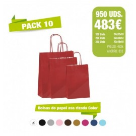 Oferta Bolsas - Pack 10