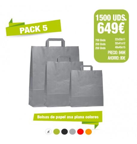 Oferta Bolsas - Pack 5