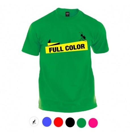 Camiseta impresion vinilo